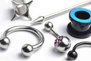 Verschiedene Piercings - Kontaktallergie gegen Nickel