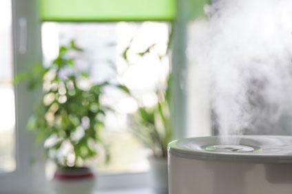 Luftbefeuchter im Wohnzimmer - Risikofaktor für exogen-allergische Alveolitis
