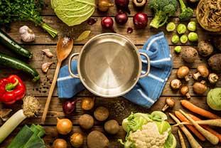 [Translate to Englisch:] Leben mit einer Allergie: ausgewogene Ernährung