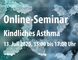 Webinar: Kindliches Asthma - Familienalltag planen und bewältigen