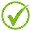 grüner Haken für genehmigt - ©kebox - stock.adobe.com