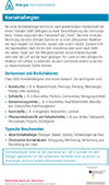 "Läd PDF Faktenblatt ""Kontaktallergien"" herunter"