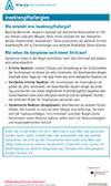 "Läd PDF Faktenblatt ""Insektengiftallergien"" herunter."