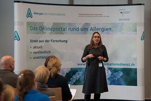 Vortrag von PD Dr. Blümchen beim Patientenforum Allergie 2018 in München