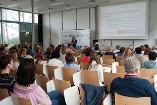 Vortrag von Dr. Reese beim Patientenforum Allergie 2018 in München