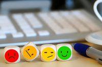 Symbolbild Umfrage - Smiley-System
