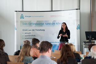 Vortrag von PD Dr. Schnopp beim Patientenforum Allergie 2018 im München
