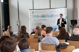 Vortrag von Prof. Eyerich beim Patientenforum Allergie 2018 im München