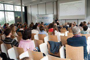 Vortrag von Prof. Traidl-Hoffmann beim Patientenforum Allergie 2018, München